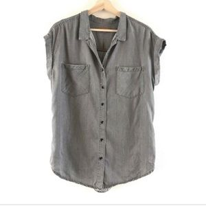 JACHS Girlfriend Button-Up Top